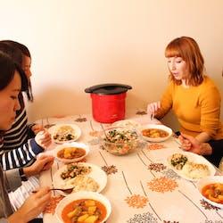 ベルナ さんの Vegetable and Chicken Pilaf野菜ソテーとチキンピラフ