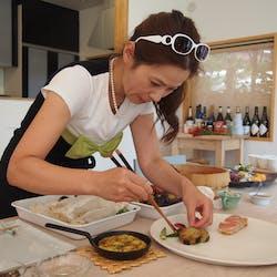 Mami さんの 旬の鎌倉野菜の小手鞠寿司