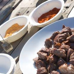 Chiemi さんの エチオピア料理 & 鍋 & 酒の肴でほっこり飲み会♬