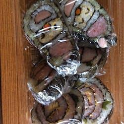 Naomi さんの デコ巻き寿司で節分