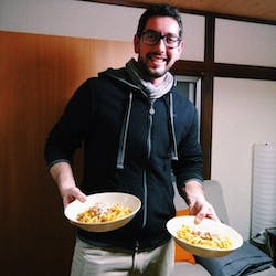 Alessandro さんの Pizza Home party!