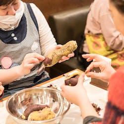 晃久 さんの 台湾スイーツの豆花とさつまいも団子