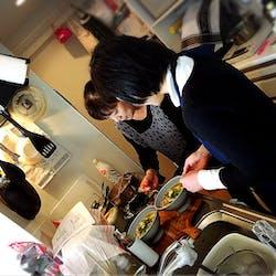 Atsuko さんの 京都「たぬき風」あんかけ入麺でホットにおもてなし