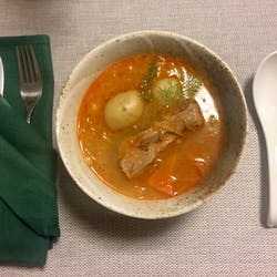 Jurga さんの Have you ever tried Lithuanian Pink Soup?