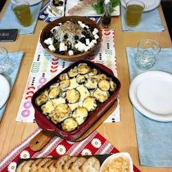 Minami さんの オリーブとハーブ、野菜たっぷり☆ギリシャ料理を食べる会