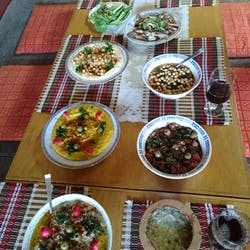 Ghassan さんの Couscous with Mix Vegetables Stew