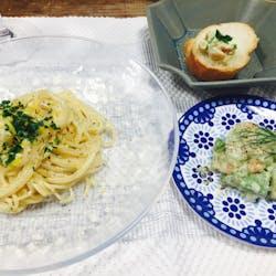 つよし さんの 自分で作ったチーズでパスタを作ってみよう with 白ワイン (表参道・外苑前)ホムパ気分で