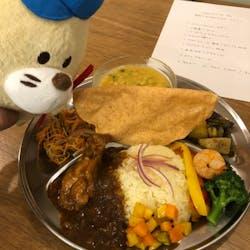 Fuyuki さんの スパイス料理、カレー全7品 「Spice Labo」#03