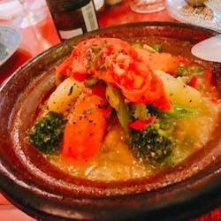 キッチハイク@モロッコ タジンや さんの 【開催決定✨】モロッコ料理「モロッコ タジンや」で好きな料理を頼もう(¥2,000 ~ ¥2,999)