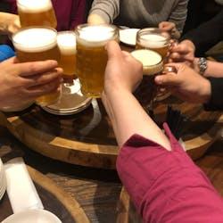 キッチハイク@ブリューパブテタールヴァレ さんの 【天満橋】クラフトビールで乾杯しよう!「ちょい飲みスタンド」@ブリューパブ テタールヴァレ⭐️前日までの予約は0円!