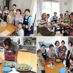 Naoko さんの Trentino出身の料理人Ceciliaといっしょに作ってたのしむイタリアン料理会