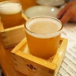 キッチハイク@ニホンバシ ブルワリー トウキョウステーション(NIHONBASHI BREWERY. T.S) さんの 【東京】新スタイル!? 升で美味しいクラフトビールを飲んでみよう!「ちょい飲みスタンド」@ニホンバシ ブルワリー トウキョウステーション