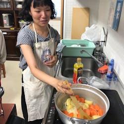 Asako さんの ウズベキスタンの家庭料理―ピーマンの肉詰めと平焼きパン