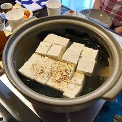 nanae さんの 湯豆腐&熱燗 夏こそハフハフ熱かんで@千駄木【参加条件があります💦】