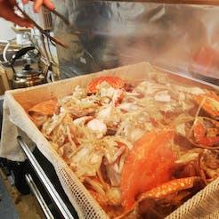 EIICHI さんの 【再度満席㊗️🦀✨感謝】台湾蟹おこわをみんなでつくって食べよう😋紅蟳米糕🦀TAIWAN EAT UP‼️@両国ガレージ