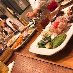 北出食堂 さんの カラフルなメキシカンタコスはシェアして楽しい!「北出食堂」で好きな料理を頼もう(¥3,000 ~ ¥3,999)