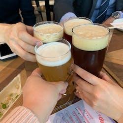 ビール工房新宿 さんの 【HOPPIN'GARAGE 1周年記念🎉】クラフトビールのお店に行って限定ビールをゲットしよう🍺@ビール工房新宿(¥3,000~¥3,999)