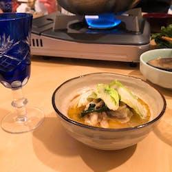 Mihoko さんの 【魚のお福分け・大人食堂】8/15沖縄竹富島の有頭エビで海老フライとオムハヤシを作りましょう