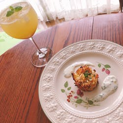 Satomi さんの オーガニックスパイスの香り たこのカレーとターメリックライス Octopus curry and Turmeric rice with organic spices
